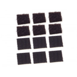 Re-Closable Patch (Adhesive) (20x20mm, 6 pairs)
