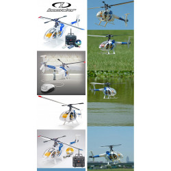 HELICOPTERE INNOVATOR MD-530 2.4GHZ MODE 2 SUPER COMBO (4720-F)