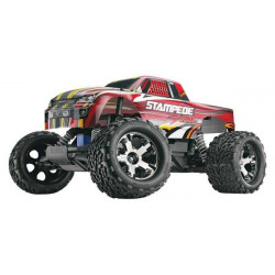 TRAXXAS STAMPEDE VXL BRUSHLEES RTR - 2.4Ghz - Red (3607)