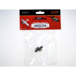 Tail blade clamp set(metal) (ERZ1-016)