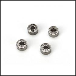 Roulements épaulés 1.5x.4x2 (4): B450 (BLH1607)