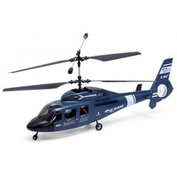 Dauphin Helicopter RTF - Blue (40Mhz Mode 1)