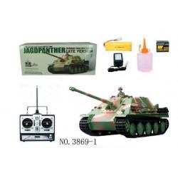 HengLong Jagdepanther Tank - Dark Green Camouflage (3869-1)