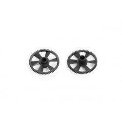 Main Gear (Black Delrin) (MSR and MCPX) -2 pcs