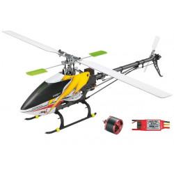 HELICOPETRE MINI TITAN E325 V2 KIT+MOTEUR+VARIO+PALES CARBONE