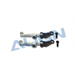 T-Rex 250 - Metal Washout Control Arm/Silver (H25011AFT)