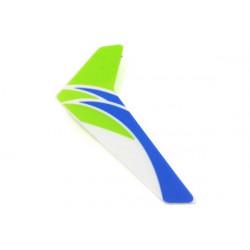 mCP X -Dérive verticale verte avec sticker (BLH3520G)