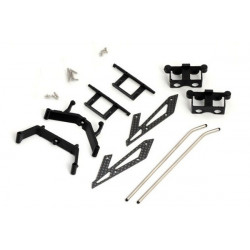 Xtreme Landing Skid Set V2 (For Lama v4, dauphine, hunter, etc)