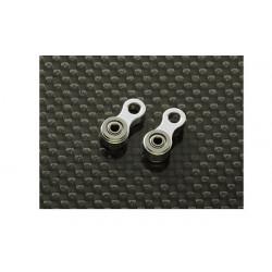 Metal Tail Control Link w/ Bearings (Trex 500, 550, 600, 700) - 2 pcs