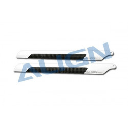 T-Rex 250 - 205D Carbon Fiber Blades (HD200B)