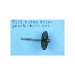 Tail rotor drive gear and Shaft set