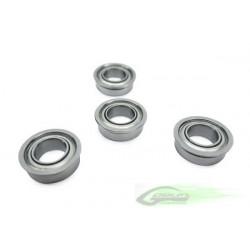 ABEC-5 Flanged bearing Ø5 x Ø9 x 3 (4pcs)