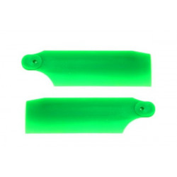 HP 450 Pro Tail Blades - Neon Green 61mm (4018)
