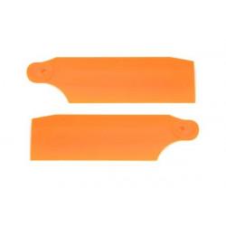 HP 450 Pro Tail Blades - Neon Orange 61mm (4019)