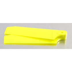72mm Tail Blades Fits TREX 500 Neon Yellow (4035)