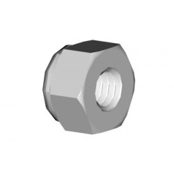 Hex lock nut M3 (02074)