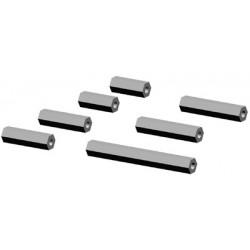 Hex bolts alu LOGO 10/400 (02371)