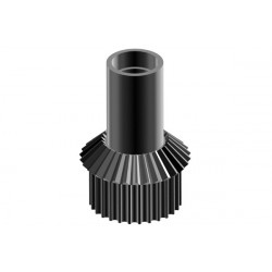 Bevel/ belt gear pinion chassis gear box, LOGO XXtreme (04523)
