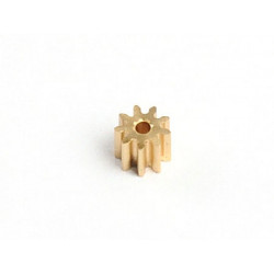 Motor Pinion 9T (1mm hole, 0.3M)