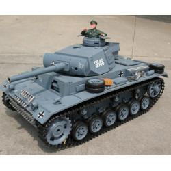 HengLong Panzerkampfwagen III - 1/16th - Grey Camouflage (3848-1)