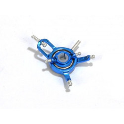 Metal Swash v2 w/ Steel Ball Links and Rear AR Pin-Blue (MCPX)