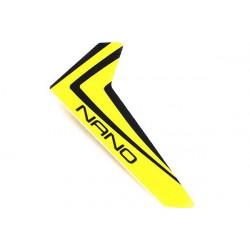 Nano CPX - Derive jaune avec autocollant (BLH3320)