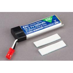 500mAh 1-Cell 3,7V 25C LiPo Battery (EFLB5001S25)