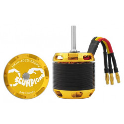 Scorpion HKIII-4025-550KV Motor Brushless (6mm) (HKIII-4025-550KV)
