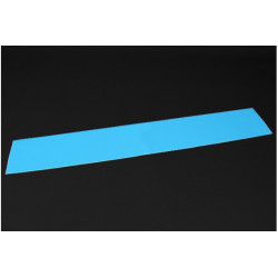 Luminescent (Glow in the dark) Self Adhesive Film - 1200mmx200mm Blue