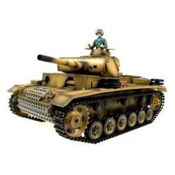 Taigen Char Radiocommande Panzerkampfwagen III (TG3848-1)