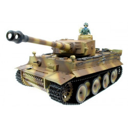 Taigen 1/16eme Tiger I RC Char avec Fumee et Bruit (TG3818-1)