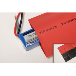 Gaine thermo Turnigy Heat Shrink Tube 100mm RED (1m) (WHS100-RED)