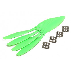 Slow Fly Electric Propellers 11x4.7 SF Green (4pcs)