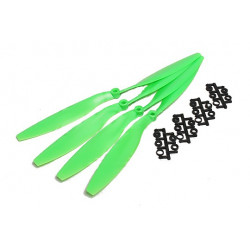 Slow Fly Electric Propellers 12x4.5R SF Right Hand Rotation Green (4pcs)