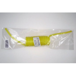 Recoil Silicon fuel pipe - 5x2.5mm - Yellow