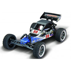 Dune Buggy 1/10 2WD Brushed with light LED - 27Mhz - Black/Blue (A2033T-V1)