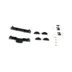 Spare Plastic Parts for Xtreme CF Skid (1 set) Blade 130X