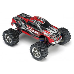 E-MAXX 4WD EVX-2 Monster Truck 1/10th with TQi 2.4Ghz Intelligent Radio System RTR - Red (3903)