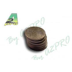 Aimant rond diamètre 8mm/1mm (5742)