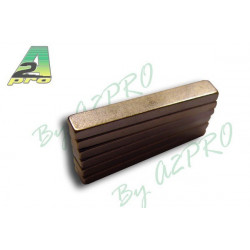 Aimant rectangle 25x4x2mm (5751)