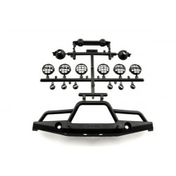 Axial 1/10th Scale Front Plate Bumper Set (AX80039A)