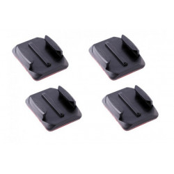 GoPro Fixation adhésives incurvées/ Curved Adhesive Mounts for Go Pro cameras (GP2006)