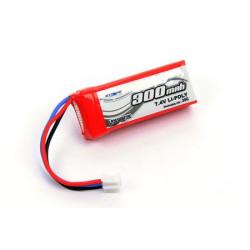 Li-po Battery 7.4V 300 mAh 35C (MCPX BL)