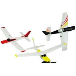 Stunt Flying Avion à Voltige 2.4GHz RC - Set d'apprentissage 3 avions en 1