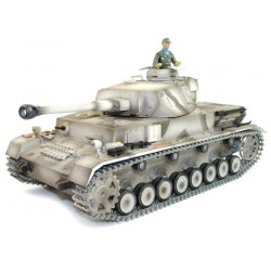 Taigen Tank Taigen Panzer IV 1:16 - 2.4Ghz- White (TG3859-1W)