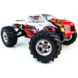 Conquistador Monster Truck Special Edition 1/10th 4WD Nitro - Red/Grey (A3006TSE)