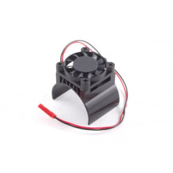 FASTRAX ALUMINIUM MOTOR HEATSINK FAN UNIT (fan on top) (FAST36-3)