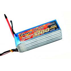 Gens ace 3700mAh 22.2V 60C 6S1P Lipo Battery Pack (B-60C-3700-6S1P)