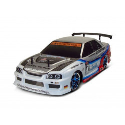 Flying Fish 1 Drift Nissan 1/10th 4WD 2.4Ghz RTR - White (94123NISSAN)