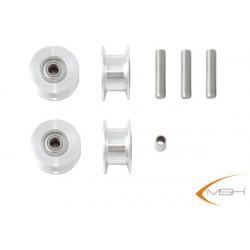 Alu pulleys set (MSH51122) Protos 500